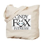 Cindy Fox Fitness Tote Bag