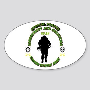 SOF - SFAS Sticker (Oval)