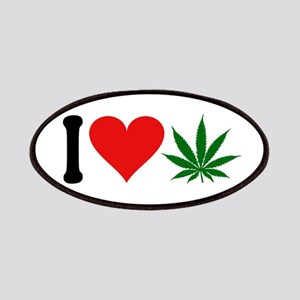 I Love Pot (symbol) Patches