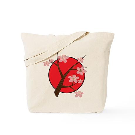 Japan In Bloom Tote Bag