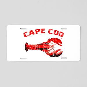 Cape Cod Lobster Aluminum License Plate