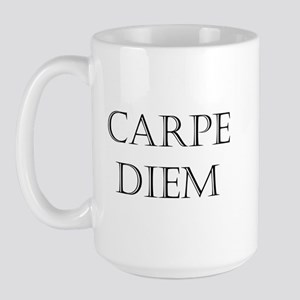 carpe diem Large Mug