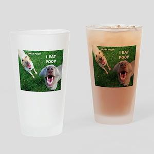 Yaay Poop! Drinking Glass