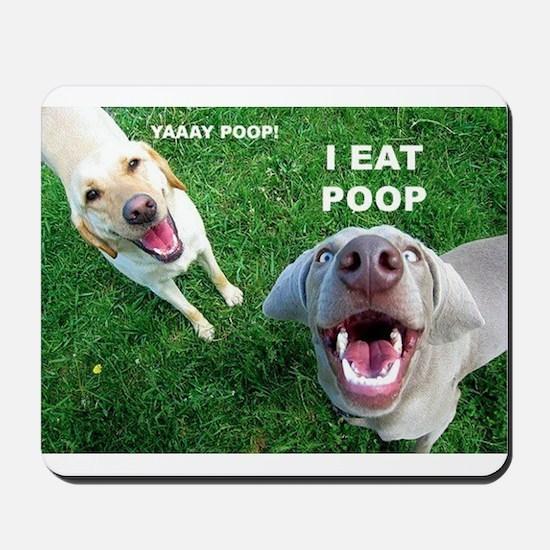 Yaay Poop! Mousepad