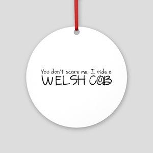 Welsh Cob Ornament (Round)