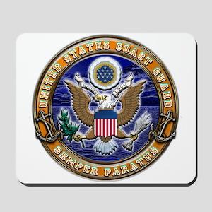 USCG Eagle & Anchors Mousepad