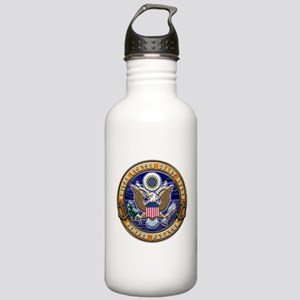 USCG Eagle & Anchors Stainless Water Bottle 1.0L