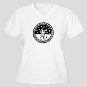 Pilgrim with Guitar Plus Size T-Shirt