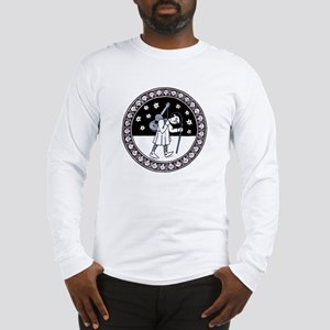 Pilgrim with Guitar Long Sleeve T-Shirt