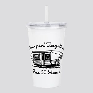 Camping Together 50 Ye Acrylic Double-wall Tumbler