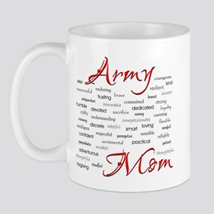 Army Mom poem in words Mug