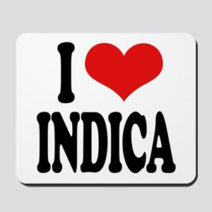 I Love Indica Mousepad