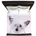 Chinese Crested (Powderpuff) King Duvet