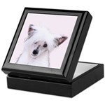 Chinese Crested (Powderpuff) Keepsake Box