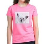 Chinese Crested (Powderpuff) Women's Dark T-Shirt