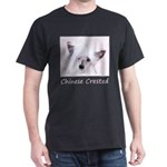 Chinese Crested (Powderpuff) Dark T-Shirt