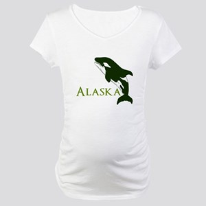 Whale Song Maternity T-Shirt