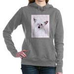 Chinese Crested (Powderp Women's Hooded Sweatshirt