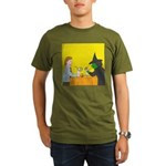 Pina Coladas (no text) Organic Men's T-Shirt (dark