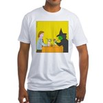 Pina Coladas (no text) Fitted T-Shirt