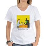 Pina Coladas Women's V-Neck T-Shirt