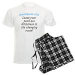 Leave your bitch ass... Men's Light Pajamas
