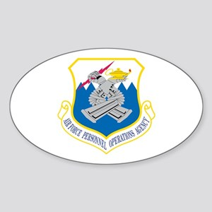 Personnel Operations Oval Sticker