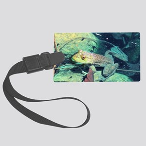 Froggie family picture Luggage Tag