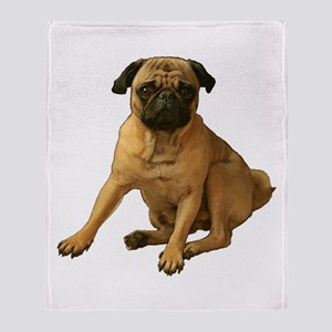Pug 2 Throw Blanket