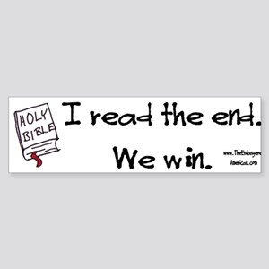 Biblical Victory Sticker (Bumper)