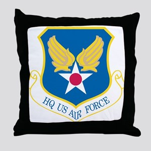 HQ US Air Force Throw Pillow