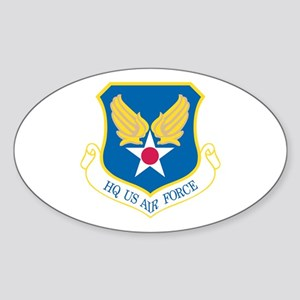 HQ US Air Force Oval Sticker