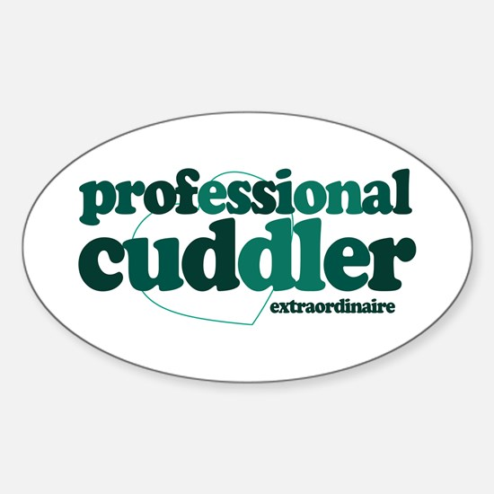 Professional Cuddler Oval Decal