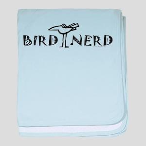 Birding, Ornithology baby blanket