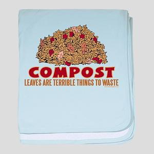 Composting baby blanket