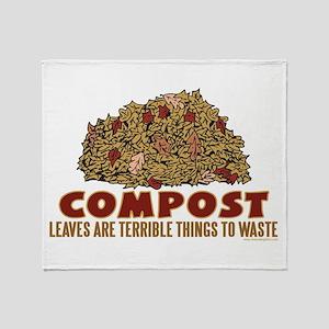 Composting Throw Blanket