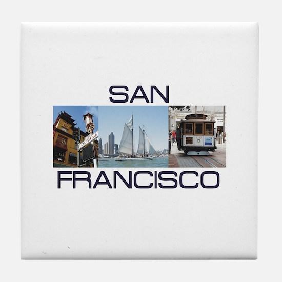 ABH San Francisco Tile Coaster