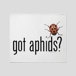 Ladybug - Organic Gardening Throw Blanket