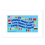 Adoption Means Postcards (Package of 8)