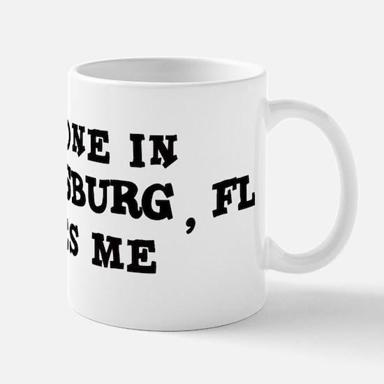Someone in St Petersburg Mug