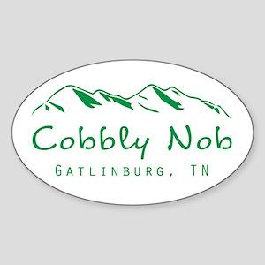 Cobbly Nob Sticker (Oval)