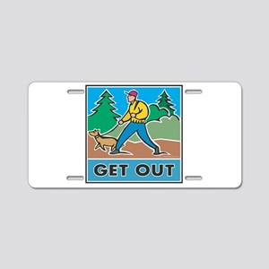 Get Outdoors Aluminum License Plate