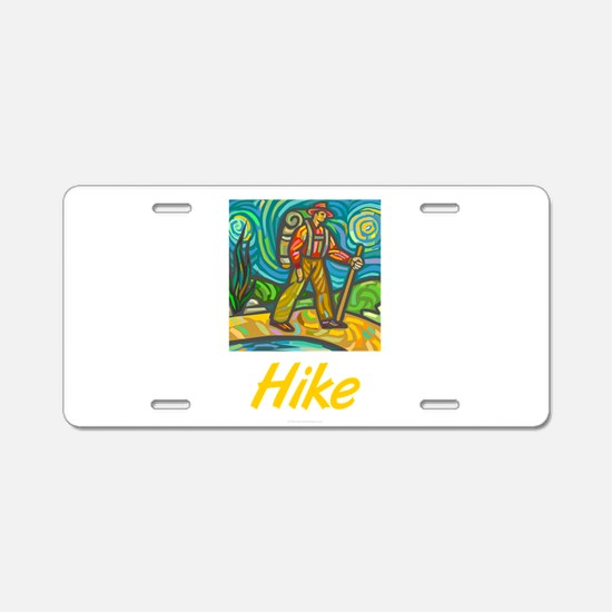 Hike Aluminum License Plate