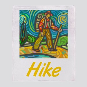 Hike Throw Blanket