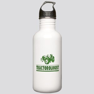 Green Tractor Stainless Water Bottle 1.0L
