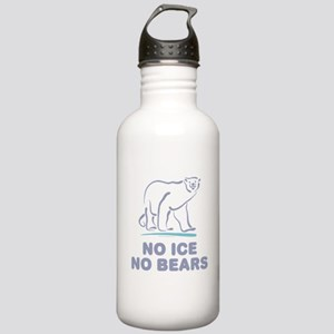 Polar Bears & Climate Change Stainless Water B