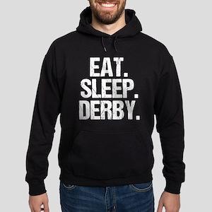 Eat Sleep Derby Hoodie (dark)