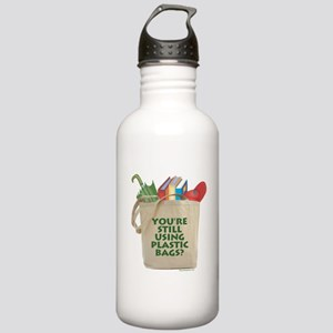 Still Using Plastic Bags? Stainless Water Bottle 1