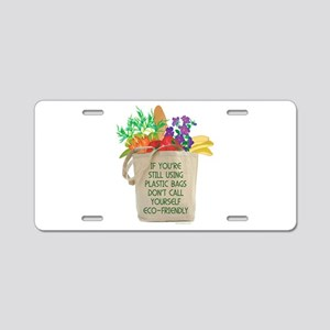 Use Eco-friendly Tote Bags Aluminum License Plate