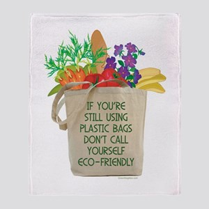 Use Eco-friendly Tote Bags Throw Blanket